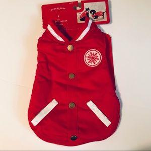 Wondershop Red Holiday Snowflake Dog Coat
